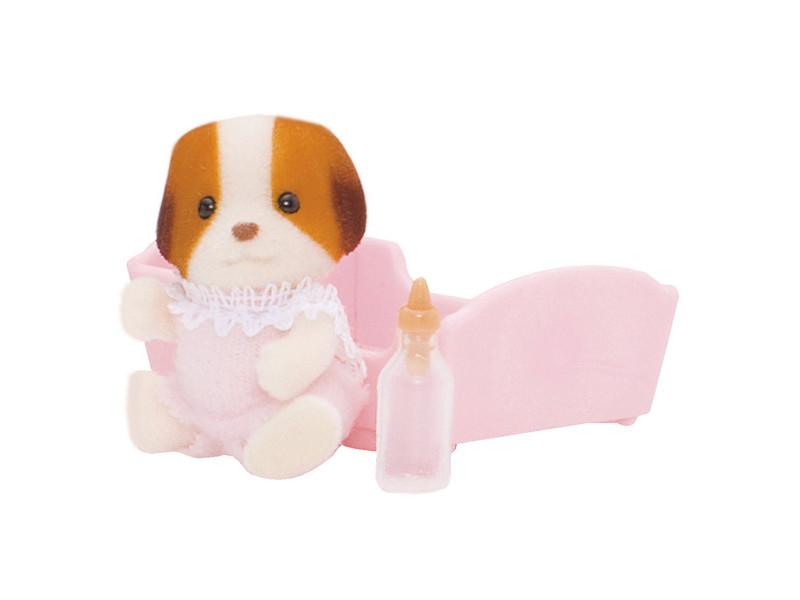 Игрушка Игрушка Sylvanian Families Малыш Щенок 3416 фигурки игрушки sylvanian families набор малыш щенок