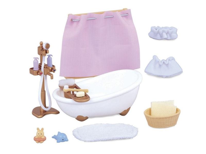 купить Игровой набор Sylvanian Families Ванная комната мини 3562 / 5022 по цене 761 рублей