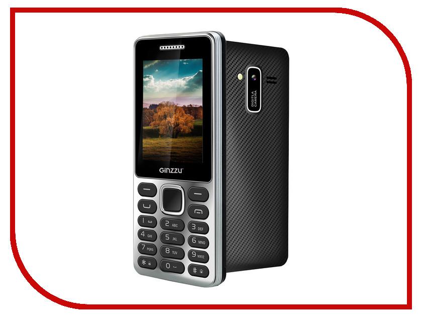 Сотовый телефон Ginzzu M104 DUAL Silver<br>