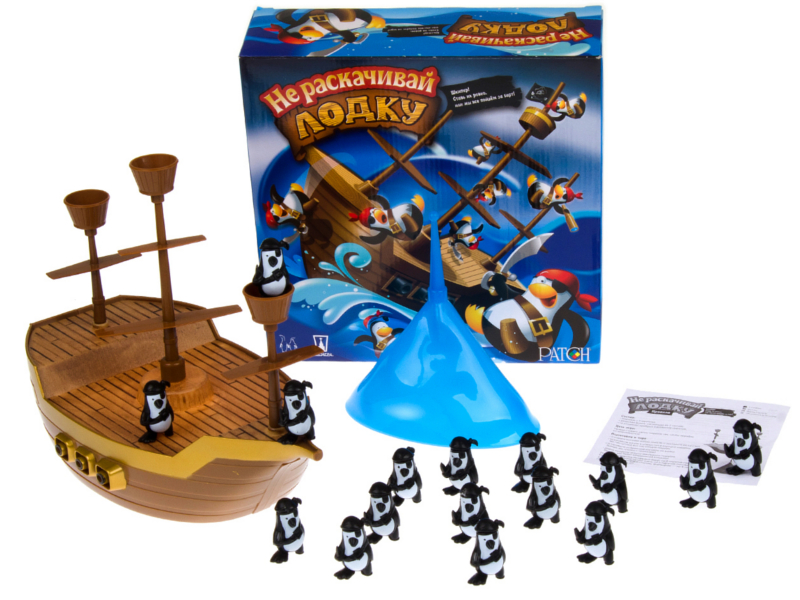 Настольная игра Magellan Не раскачивай лодку! MAG00684