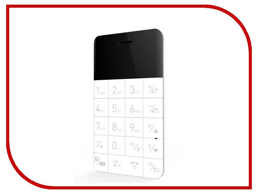 Сотовый телефон Elari CardPhone White гаджет карт ридер elari smartcable