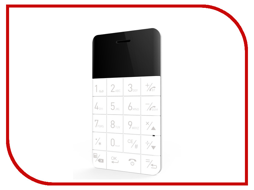 Сотовый телефон Elari CardPhone White сотовый