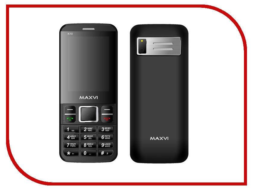 Сотовый телефон Maxvi K10 Black<br>