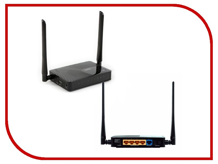 Wi-Fi роутер ZyXEL Keenetic III<br>