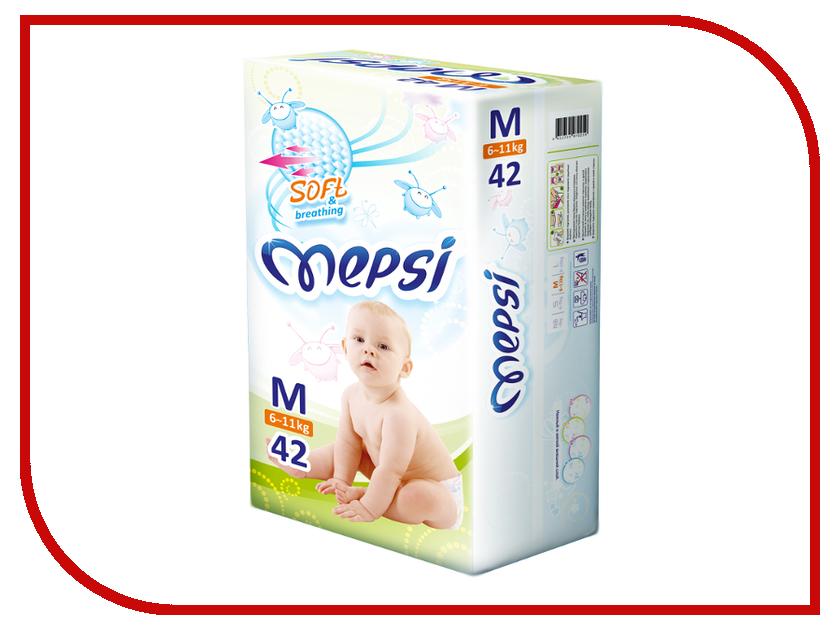 Подгузники Mepsi Premium M 6-11кг 42шт