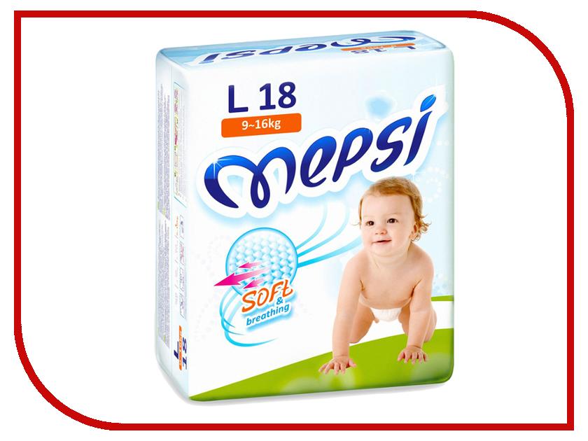 Подгузники Mepsi Premium L 9-16кг 18шт<br>