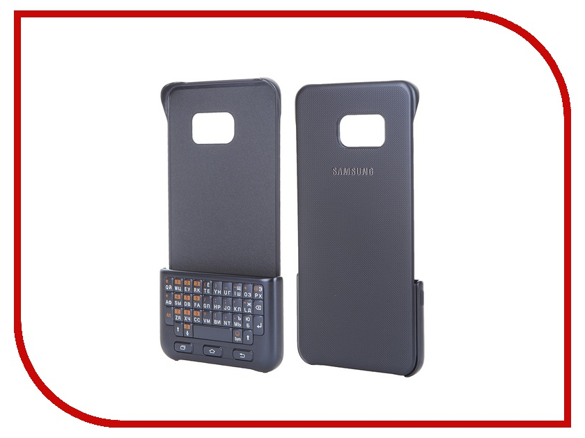 где купить Аксессуар Чехол-клавиатура Samsung G928F Galaxy S6 Edge+ EJ-CG928RBEGRU дешево
