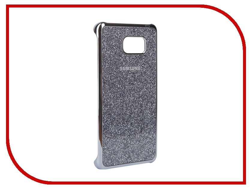 Аксессуар Чехол-накладка Samsung Galaxy Note 5 Glitter Cover Silver EF-XN920CSEGRU<br>