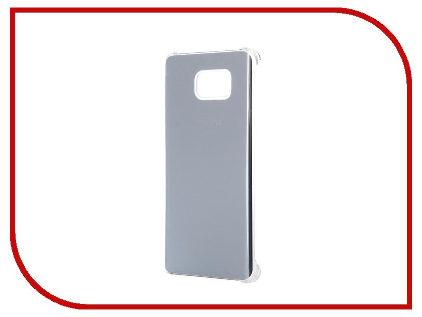 Аксессуар Чехол-накладка Samsung Galaxy Note 5 Glossy Cover Silver EF-QN920MSEGRU<br>