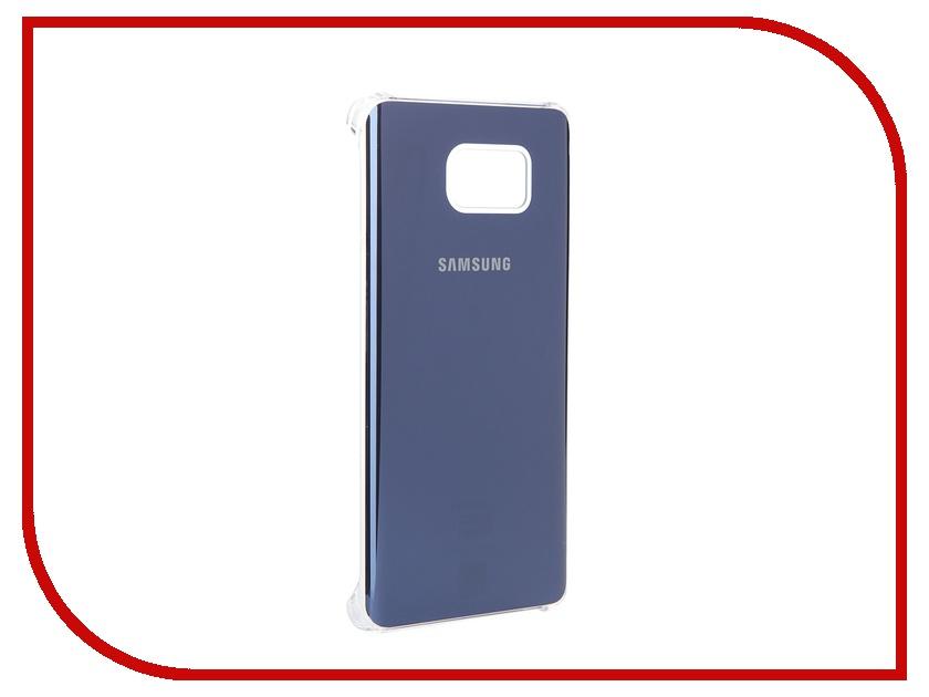 Аксессуар Чехол-накладка Samsung Galaxy Note 5 Glossy Cover Black EF-QN920MBEGRU<br>