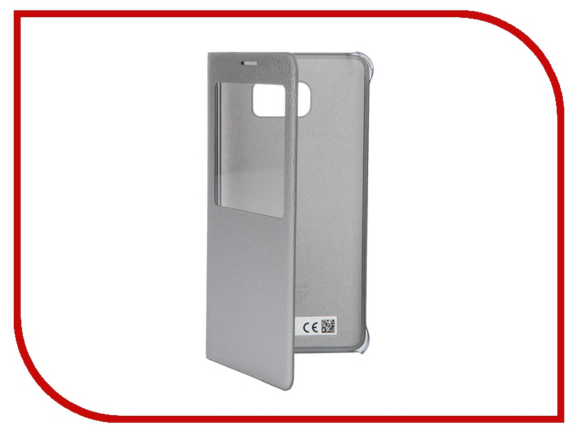 Аксессуар Чехол Samsung Galaxy Note 5 S View Cover Silver EF-CN920PSEGRU<br>