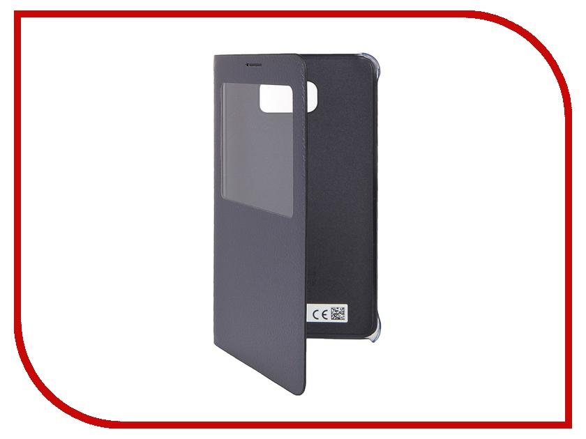 Аксессуар Чехол Samsung Galaxy Note 5 S View Cover Black EF-CN920PBEGRU<br>