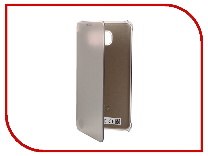Аксессуар Чехол Samsung Galaxy Note 5 Clear View Cover Gold EF-ZN920CFEGRU<br>