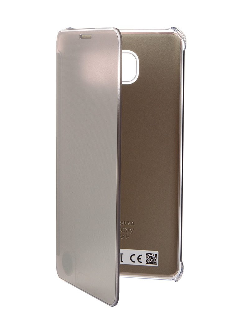 ��������� ����� Samsung Galaxy Note 5 Clear View Cover Gold EF-ZN920CFEGRU