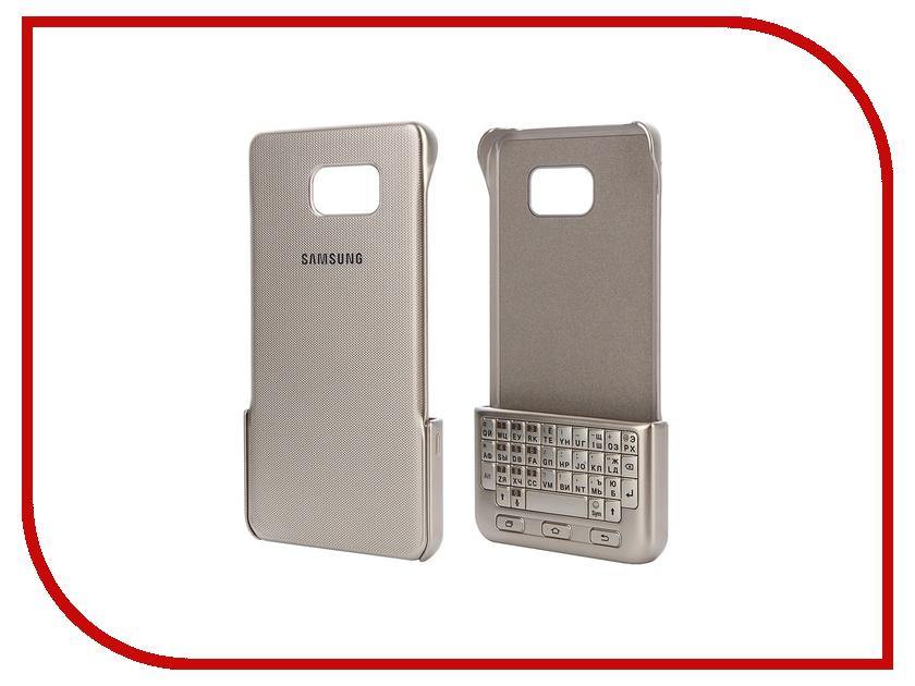 Аксессуар Чехол-клавиатура Samsung Galaxy Note 5 Gold EJ-CN920RFEGRU samsung keyboard cover ej cn920rfegru gold