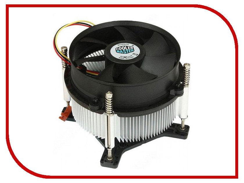 Кулер Cooler Master CP6-9HDSA-0L-GP TDP 95-105W (LGA 1150/1155/1156) кулер для процессора cooler master cp6 9hdsa 0l gp socket 1156 1155