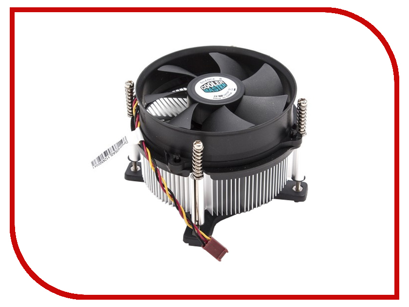 Кулер Cooler Master DP6-9HDSA-0L-GP TDP 95W (LGA1150/1155/1156) кулер для процессора cooler master cp6 9hdsa 0l gp socket 1156 1155