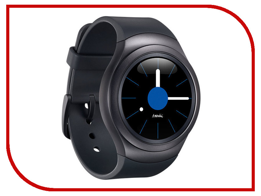 Умные часы Samsung Gear S2 Sports SAM-SM-R7200ZKASER Black