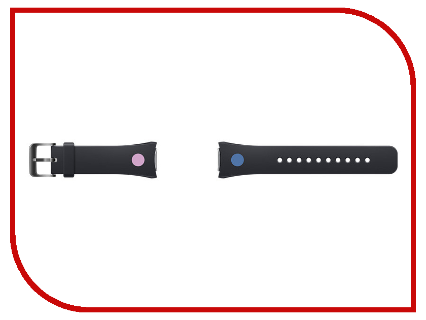 Аксессуар Ремешок Samsung ET-SRR72MBEGRU для Gear S2 / Gear S2 Sport Black<br>