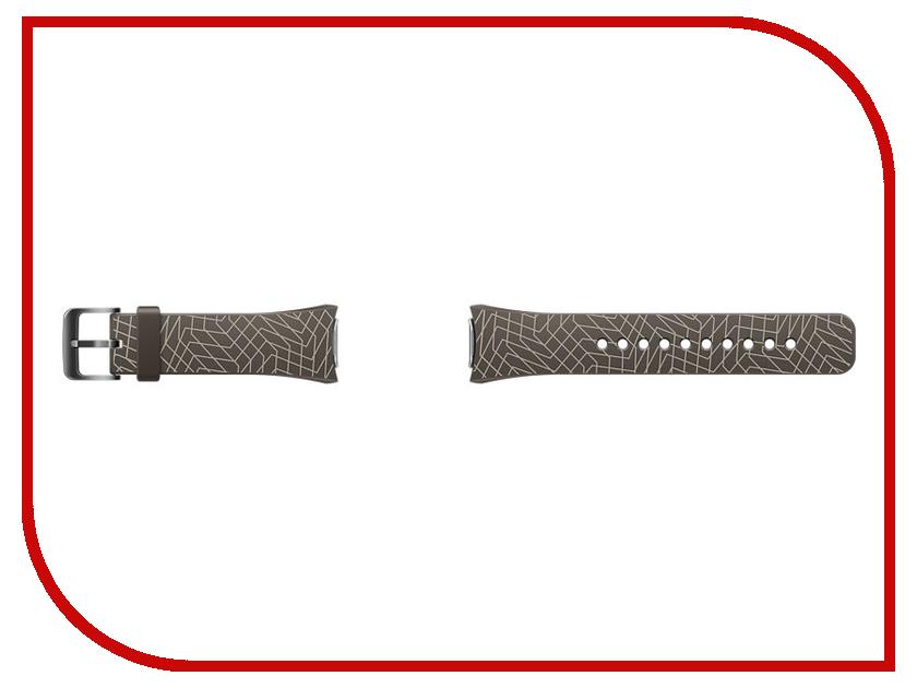 Аксессуар Ремешок Samsung ET-SRR72MDEGRU для Gear S2 / Gear S2 Sport Dark-Brown