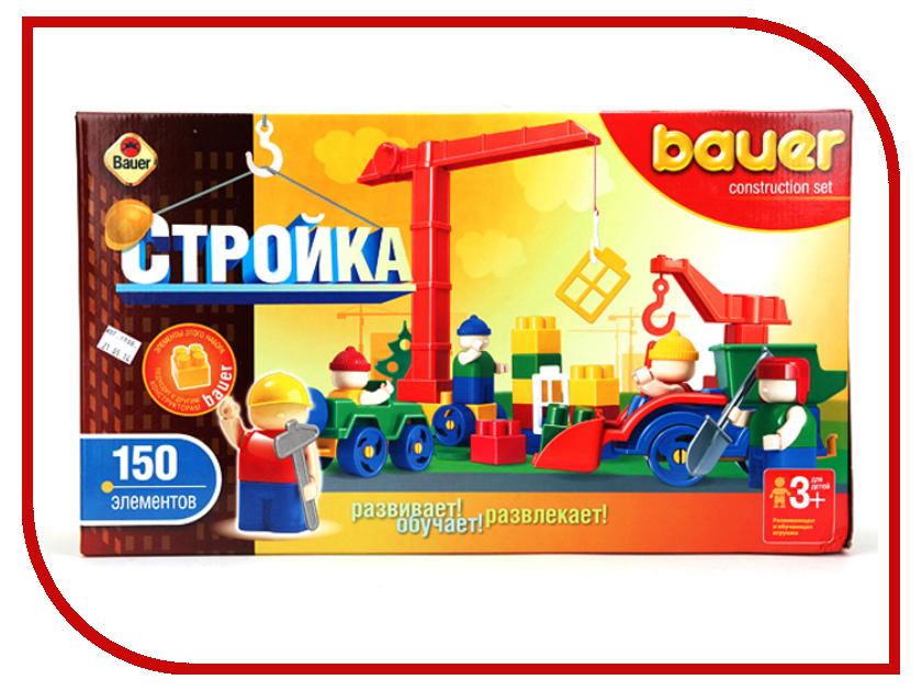 Конструктор Bauer Стройка 202 182452 конструктор bauer стройка 366