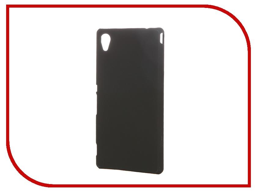 Аксессуар Чехол Sony Xperia M4 Aqua SkinBox 4People Black T-S-SXM4A-002 + защитная пленка<br>