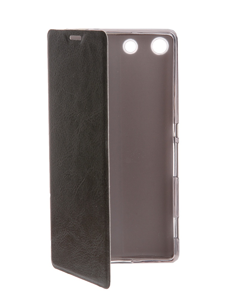��������� ����� Sony Xperia C5 Ultra SkinBox Lux Black T-S-SXC5U-003