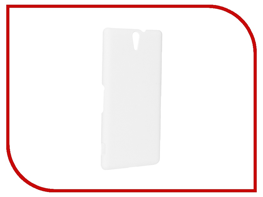 Аксессуар Чехол Sony Xperia C5 Ultra SkinBox 4People White T-S-SXC5U-002 + защитная пленка<br>