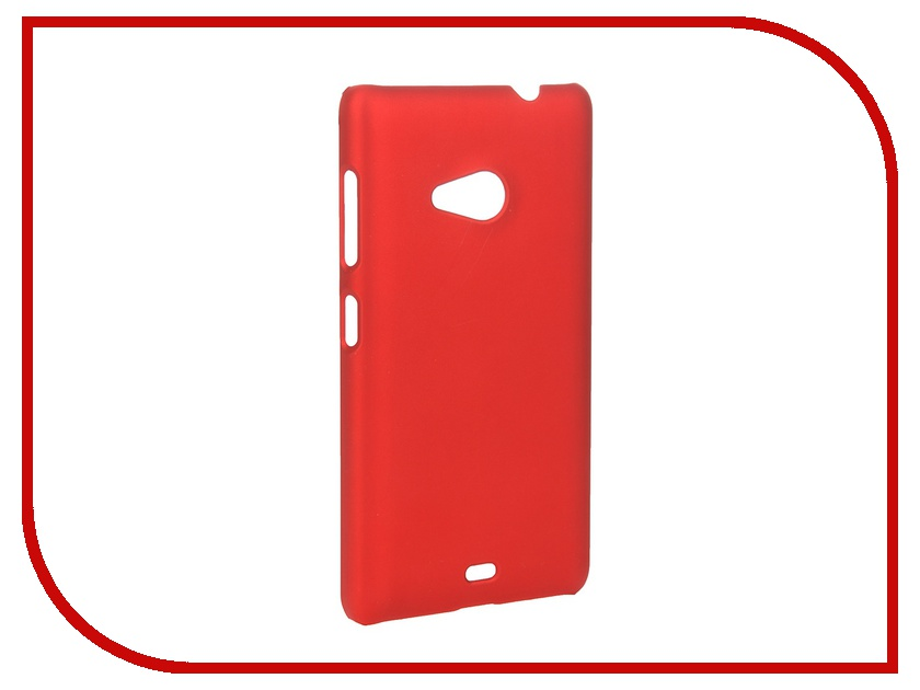 ��������� �����-�������� Microsoft Lumia 535 SkinBox 4People Red T-S-ML535-002 + �������� ������