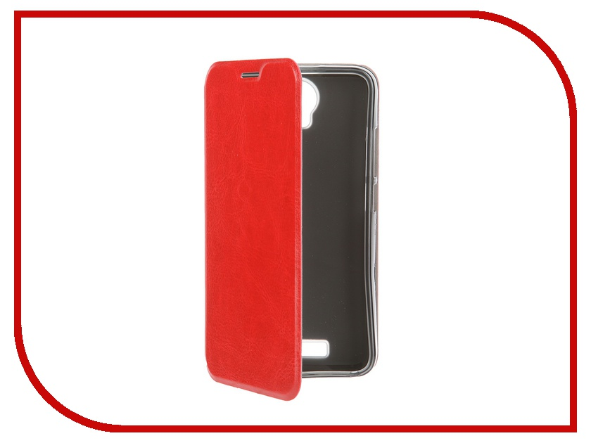 ��������� ����� Micromax AQ5001 SkinBox Lux Red T-S-M5001-003