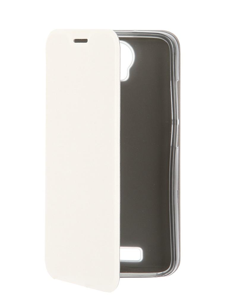 Аксессуар Чехол Micromax AQ5001 SkinBox Lux White T-S-M5001-003<br>