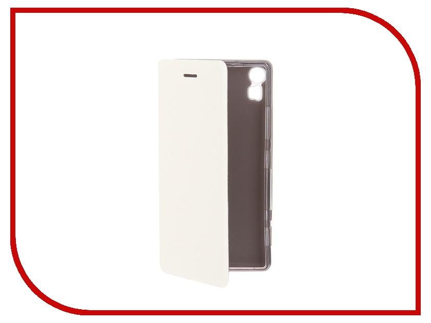 Аксессуар Чехол Lenovo Vibe Shot SkinBox Lux White T-S-LVS-003<br>