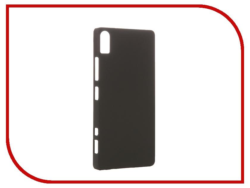Аксессуар Чехол-накладка Lenovo Vibe Shot SkinBox 4People Black T-S-LVS-002 + защитная пленка<br>