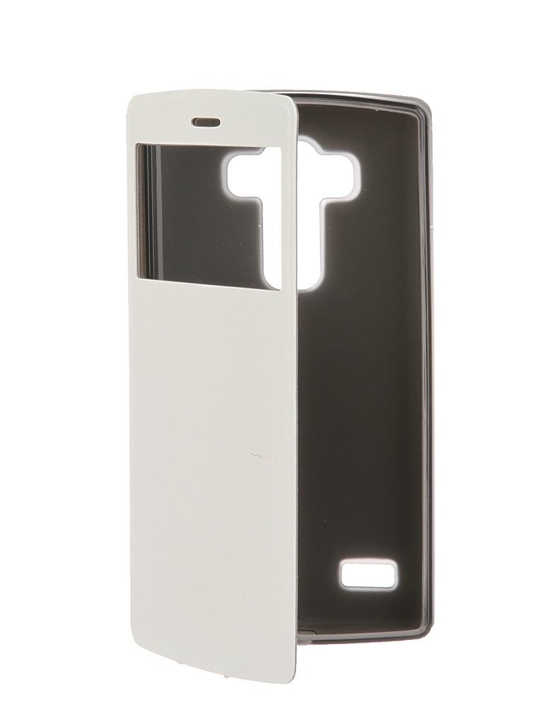Аксессуар Чехол SkinBox LG G4S Lux AW White T-S-LG4S-004<br>