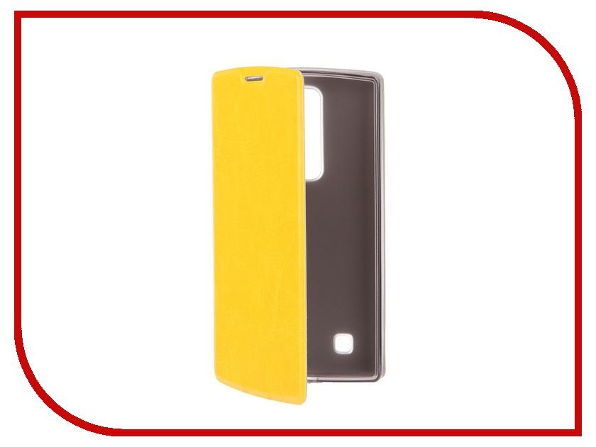 Аксессуар Чехол SkinBox LG G4C Lux Yellow T-S-LG4C-003<br>