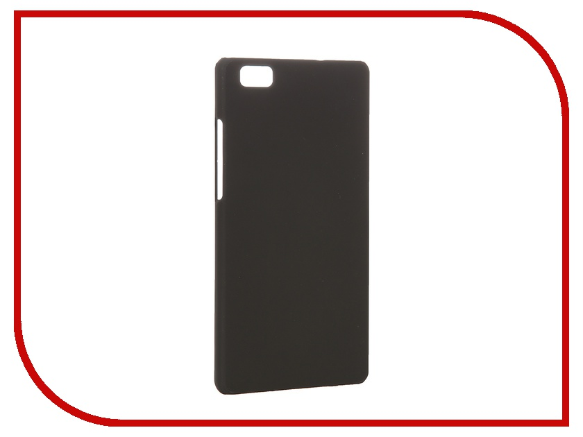 Аксессуар Чехол-накладка Huawei P8 Lite SkinBox 4People Black T-S-HP8L-002 + защитная пленка