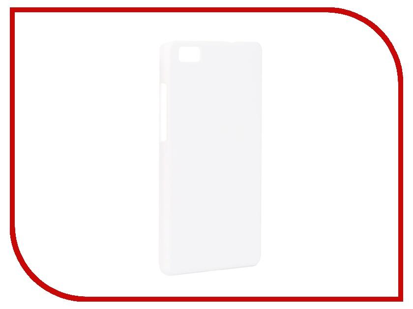 ��������� �����-�������� Huawei P8 Lite SkinBox 4People White T-S-HP8L-002 + �������� ������
