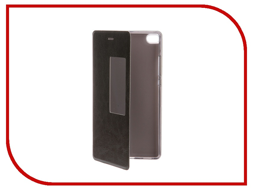 Аксессуар Чехол Huawei P8 SkinBox Lux AW Black T-S-HP8-004