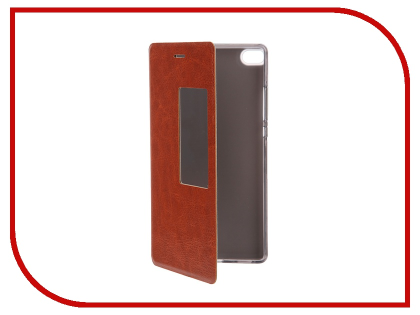 ��������� ����� Huawei P8 SkinBox Lux AW Brown T-S-HP8-004