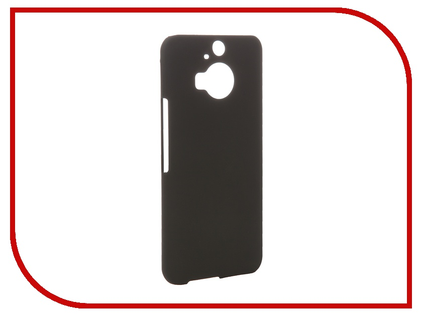 Аксессуар Чехол-накладка HTC One M9+ SkinBox 4People Black T-S-HOM9P-002 + защитная пленка<br>