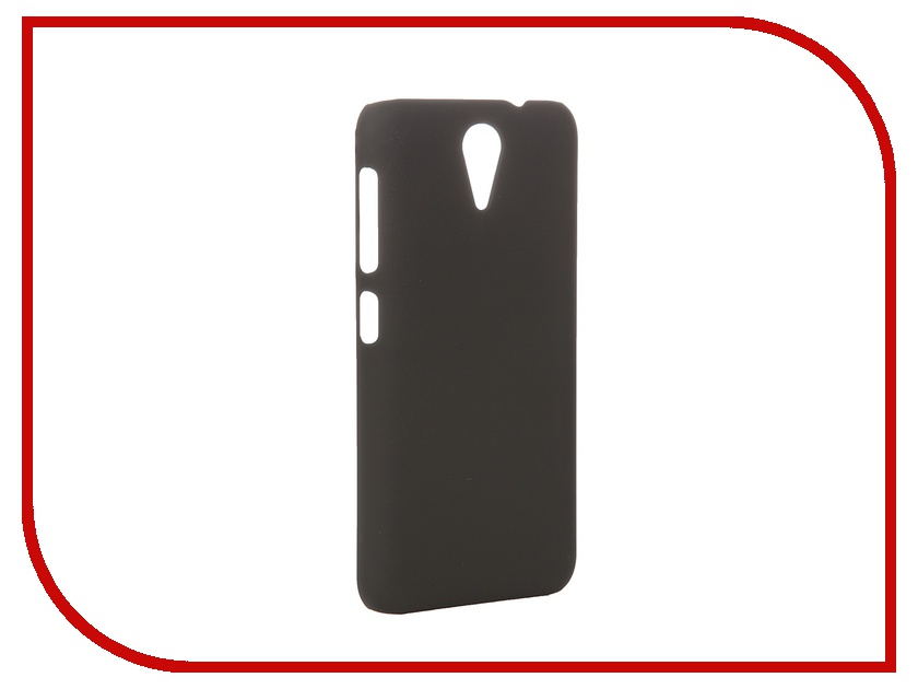 ��������� �����-�������� HTC Desire 620 SkinBox 4People Black T-S-HD620-002 + �������� ������