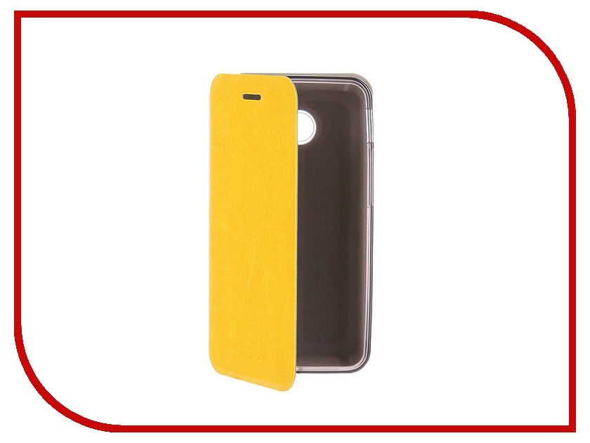 Аксессуар Чехол ASUS ZenFone 4 SkinBox Lux Yellow T-S-AZF4-004<br>