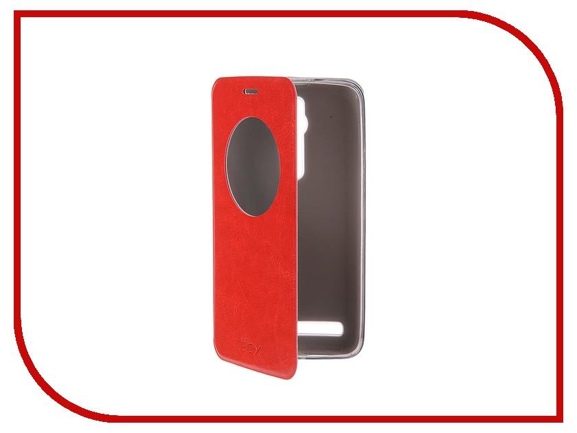 Аксессуар Чехол ASUS ZenFone 2 ZE551ML/ZE550ML 5.5 SkinBox Lux AW Red T-S-AZF2-004<br>