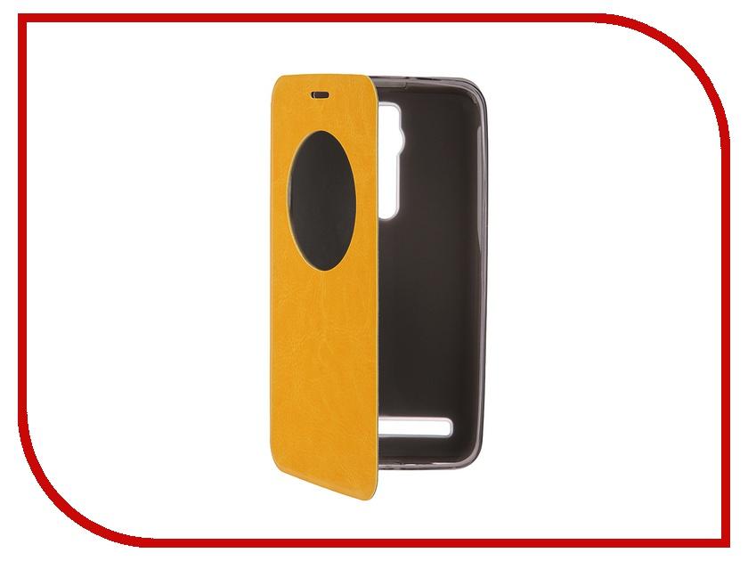 Аксессуар Чехол ASUS ZenFone 2 ZE551ML/ZE550ML 5.5 SkinBox Lux AW Yellow T-S-AZF2-004<br>