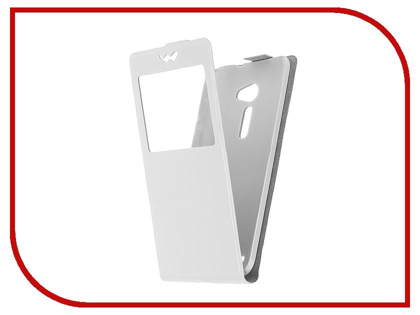 Аксессуар Чехол ASUS Zenfone 2 ZE551ML/ZE550ML SkinBox Slim White T-S-AZ25.5-001<br>