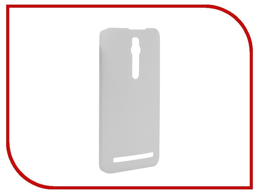 Аксессуар Чехол-накладка ASUS ZenFone 2 ZE551ML/ZE550ML SkinBox 4People White T-S-AZ2-002 + защитная пленка<br>