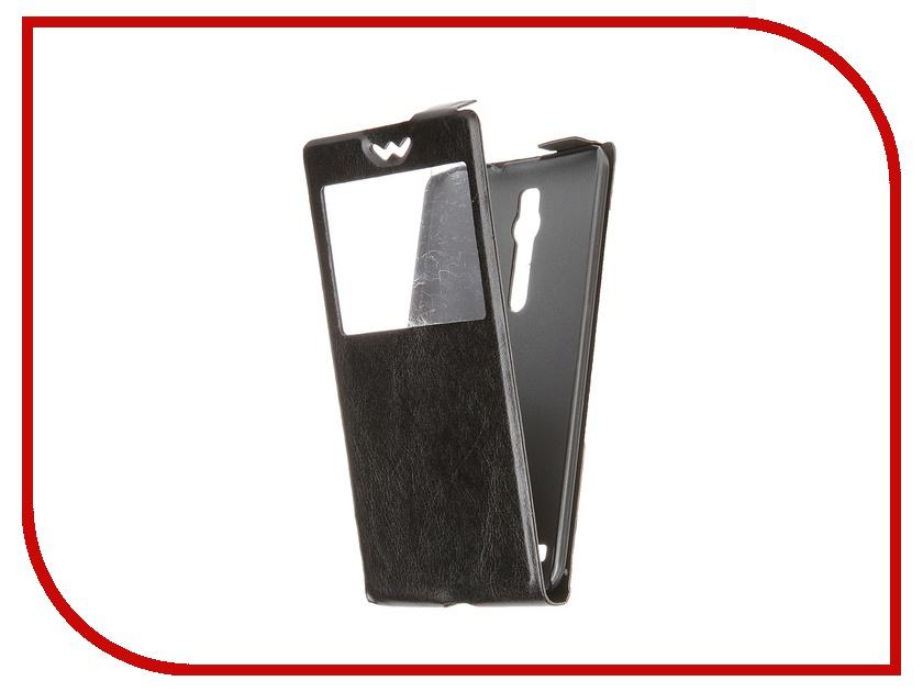 Аксессуар Чехол ASUS Zenfone 2 ZE500CL SkinBox Slim Black T-S-AZ25-001