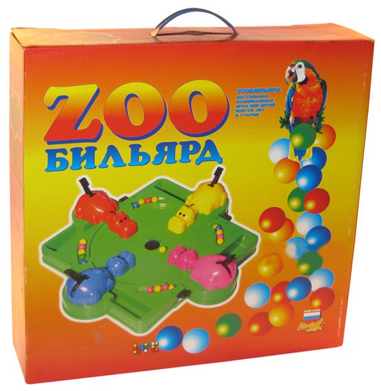 Настольная игра ОмЗЭТ Зообильярд 078 настольная игра омзэт детский тир 480748