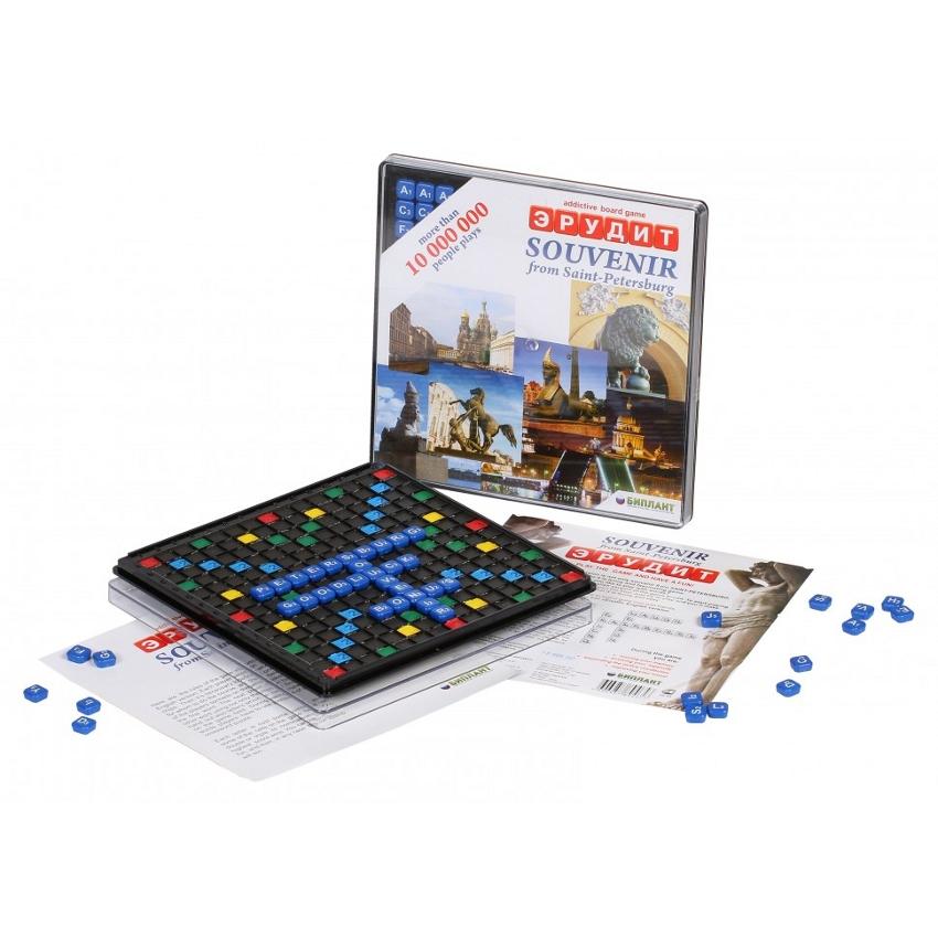 Настольная игра Биплант Эрудит Сувенирный 10002<br>