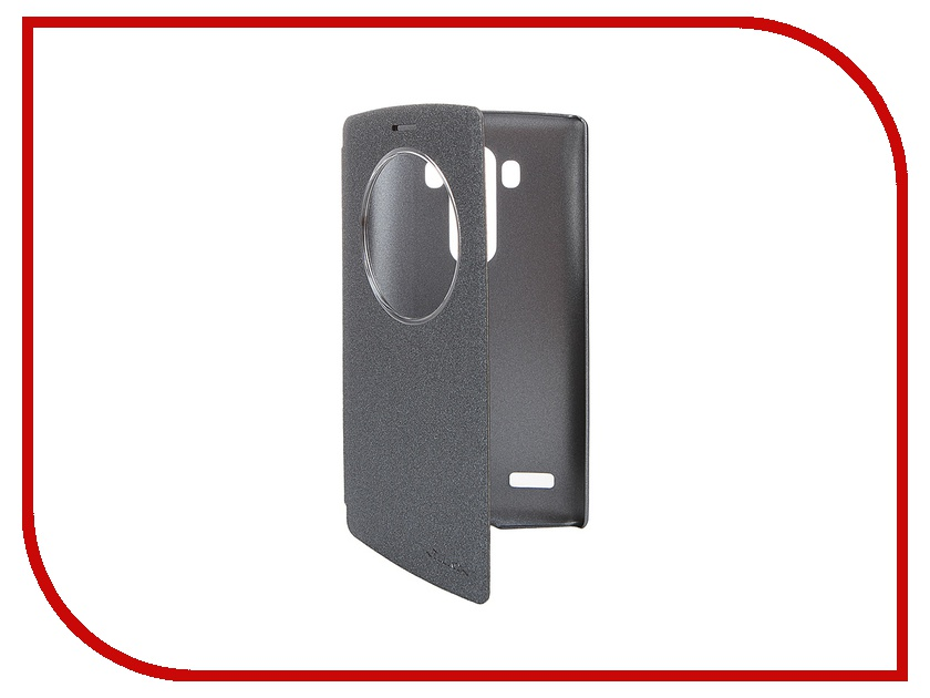 Аксессуар Чехол LG G4S Nillkin Sparkle Black<br>